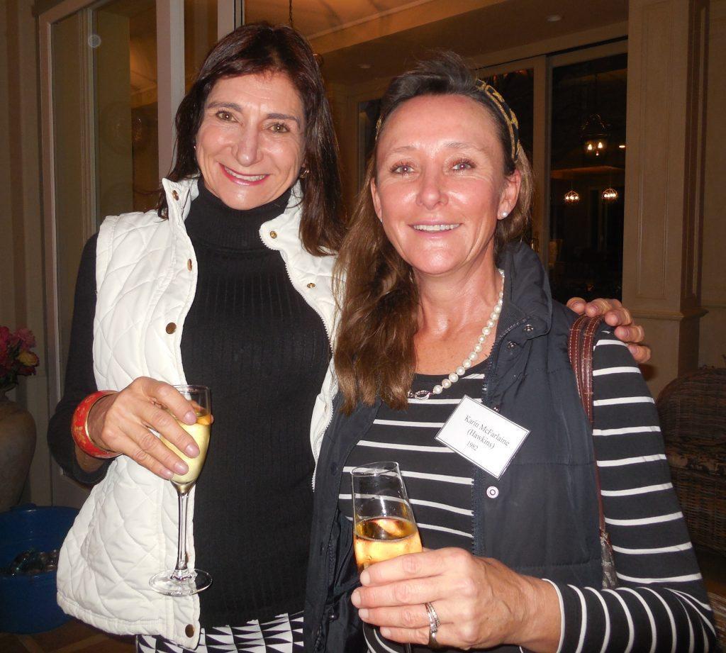 Bridgid Hamilton-Russell & Karin McFarlaine