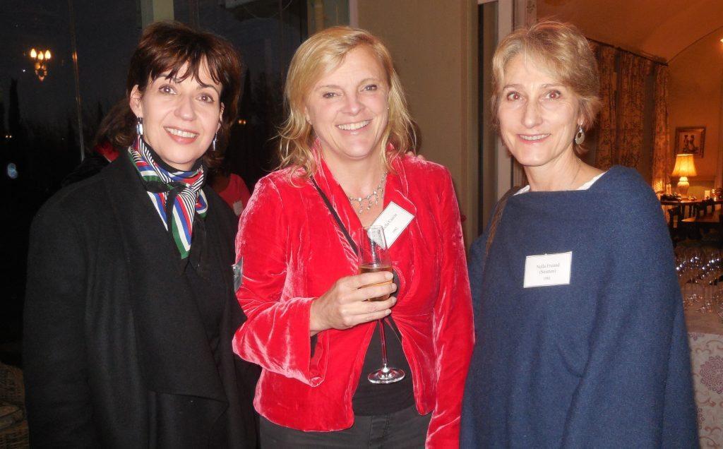 Lindsay Lawrence, Arabella Caccia & Nella Freund