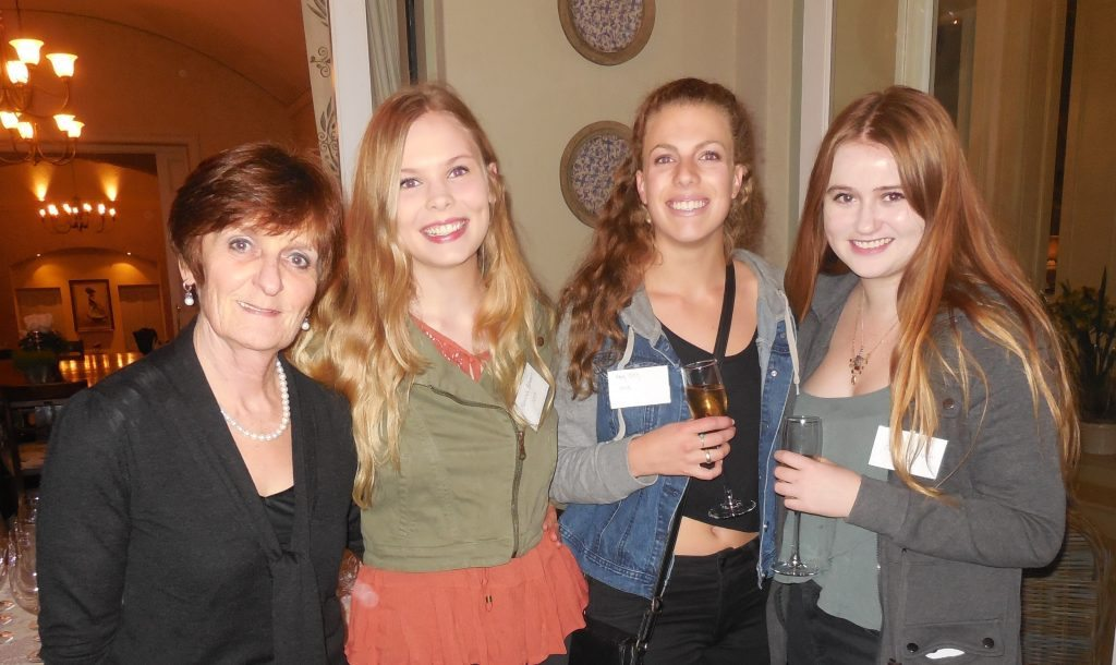 Mary Williams, Hannah Berens, Amy Olley & Gina Fitzpatrick Niven
